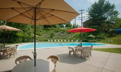 Pool, Colony West Apartments, 1