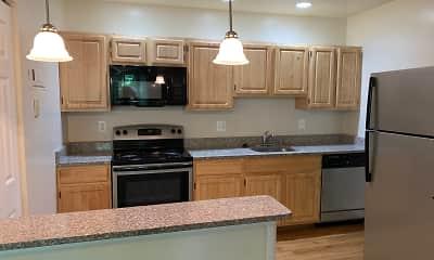 Kitchen, Skyview Apartments, 2