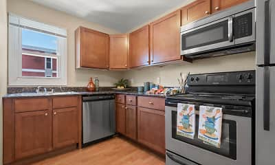 Kitchen, Park Trails, 1