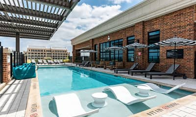 Pool, Gables Republic Square, 0