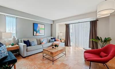 Living Room, Capitol Park Plaza & Twins, 1