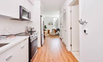 Kitchen, Aero Apartments, 1