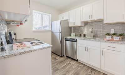 Kitchen, Waverlywood Apartments, 1