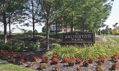 Community Signage, Arlington Park, 2