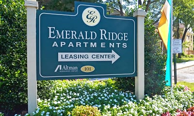 Community Signage, Emerald Ridge, 1