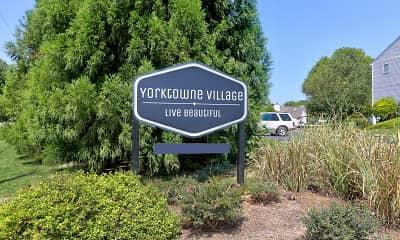 Community Signage, Yorktowne Village, 0
