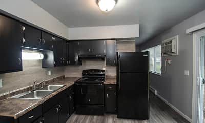 Kitchen, First Flats, 0