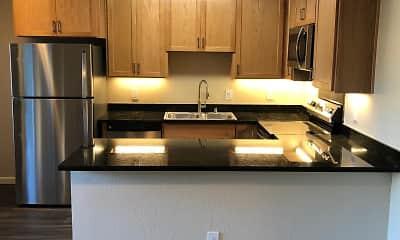 Kitchen, Shangri-La Apartments, 2