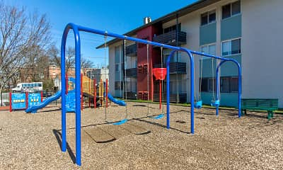 Playground, Bass Place Apartment Homes, 1