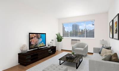 Living Room, 515 W. Barry, 1