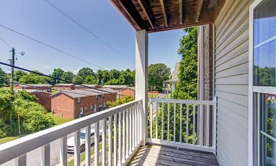 Patio / Deck, SPARTAN CROSSING - LEASED BY THE BED, 2