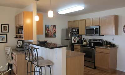 Kitchen, The Fountains Apartments, 0