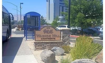 Community Signage, Washoe -Mill Apartments, 2