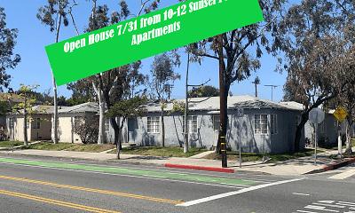 Community Signage, Sunset Park Apartments, 0