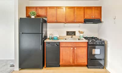 Kitchen, RiverStone Apartments, 0