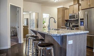 Kitchen, Flats at Medical Center Houston, 1