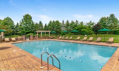 Pool, Spring Creek Apartments, 2