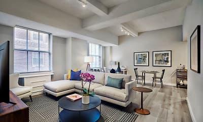 Living Room, The Franklin Residences, 0