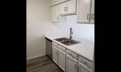 Kitchen, Villa Delano Apartments, 1