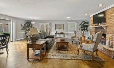 Living Room, Jamestown Village, 2