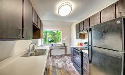 Kitchen, Wellington Apartments, 1