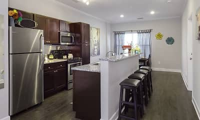 Kitchen, The Ridge at Gainesville - Per Bed Lease, 2