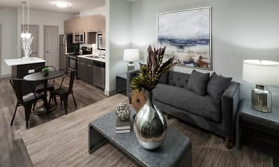 Living Room, Anatole at The Pines, 2