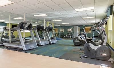 Fitness Weight Room, Huntington Green, 1