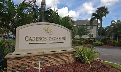 Community Signage, Cadence Crossing, 2