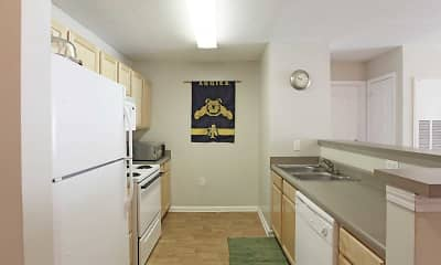 Kitchen, University Park Student Apartments, 1