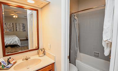 Bathroom, CityParc at the Ranch, 2