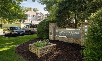 Community Signage, Wellington Ridge Apartments, 2