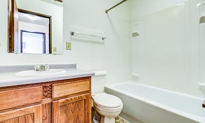 Bathroom, Gateway Manor and Northgate Apartment Homes, 2