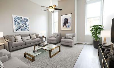 Living Room, Pembroke Square, 2