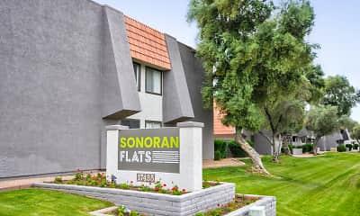 Community Signage, Sonoran Flats, 2