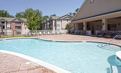 Pool, Cliff Creek Apartments, 0