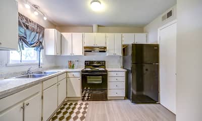 Kitchen, Wynsum Townhomes, 1