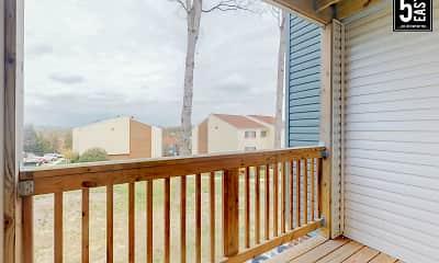 Patio / Deck, 5 East, 1