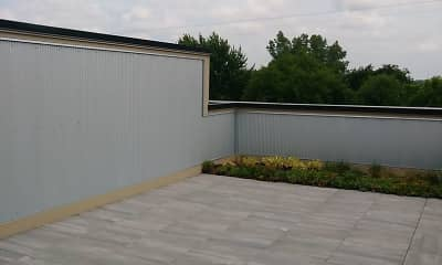 Patio / Deck, 221 Trowbridge Flats, 2