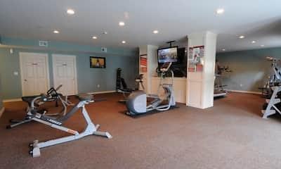 Fitness Weight Room, Skyline Commons, 2