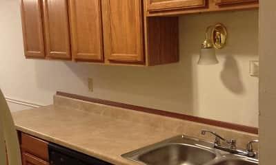 Kitchen, Secor Flats, 2