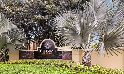 Community Signage, The Palms of Doral Apartments, 2