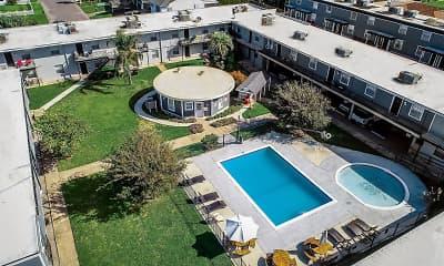 Pool, Gulfwind Apartments, 0