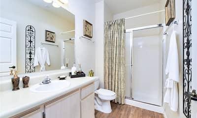 Bathroom, Ventana Apartments, 2