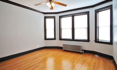 Living Room, 1151 S. Oak Park Apartments, 1