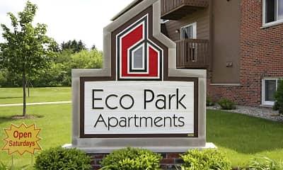 Community Signage, Eco Park, 2