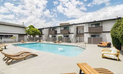 Pool, Prados Apartments at Arcadia, 1
