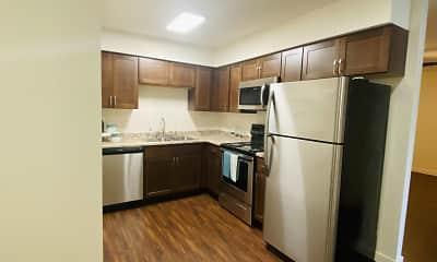 Kitchen, Cedarstone/Oakleaf, 1
