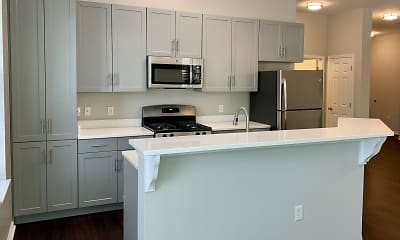 Kitchen, The Kentshire- Senior Living, 1
