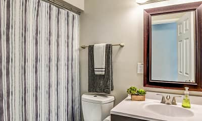 Bathroom, Dahlridge Apartments, 2